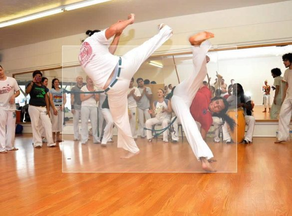 Capoeira instruction